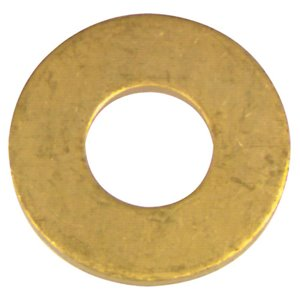 Hillman 6-Count #8 x 7/16-in Brass Standard (SAE) Flat Washer
