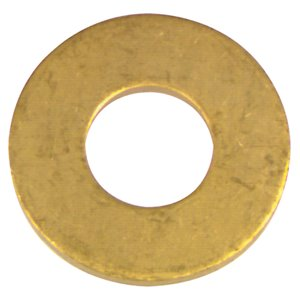 Hillman 2-Count 5/16-in x 7/8-in Brass Standard (SAE) Flat Washer