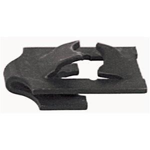Hillman #6-32 Black Phosphate Steel Standard (SAE) J Spring Nuts (4-Pack)