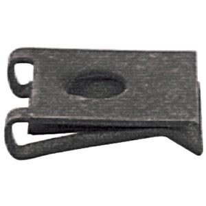 Hillman 1/4-in-20 Black Phosphate Steel Standard (SAE) U Spring Nuts (4-Pack)