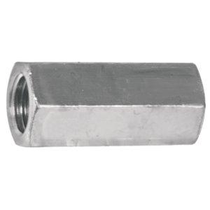 Hillman 1/4-in-20 Zinc-Plated Standard (SAE) Regular Nut (2-Pack)