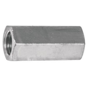 Hillman 5/16-in-18 Zinc-Plated Steel Standard (SAE) Regular Coupling Nuts