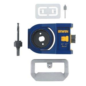 IRWIN Wood Door Lock Installation Kit