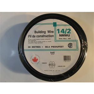 Southwire 14 AWG Outdoor Non-Metallic Wire (By-the-Roll)