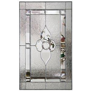 ReliaBilt 22-in x 36-in Dyansty Platinum Glass Insert