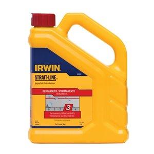 IRWIN STRAIT-LINE 2.5-lb Red Permanent Marking Chalk