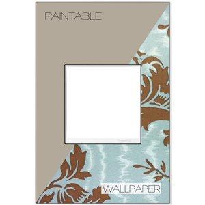Legrand adorne 1-Gang Square Customizable Wall Plate (White Trim)