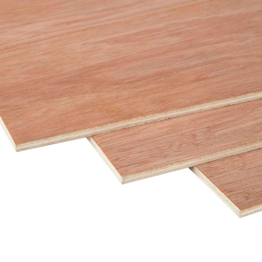 3/3 x 3-ft x 3-ft Lauan Underlayment Plywood