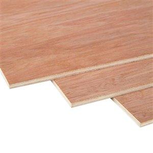 1/4 x 4-ft x 8-ft Lauan Underlayment Plywood