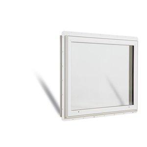 JELD-WEN 48-in x 36-in Low-E Argon Double Pane Vinyl Picture Window