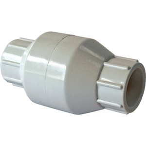 2-in PVC Socket In-Line Check Valve