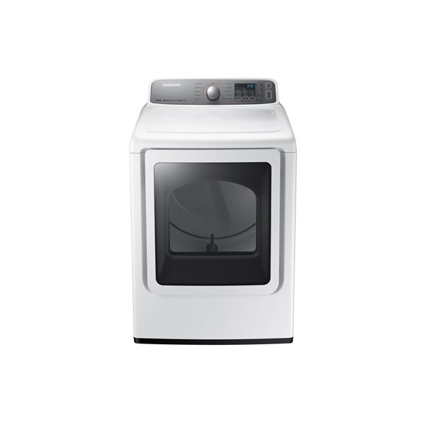 Samsung 7 4-cu ft Electric Dryer (White) | Lowe's Canada