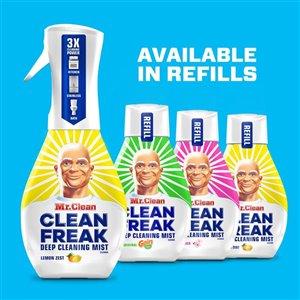 Mr. Clean, Clean Freak Deep Cleaning Mist Multi-Surface Spray, Gain Original Scent Starter Kit