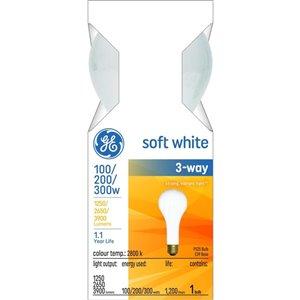 GE GE 100/200/300W INC A21 TRI SOFT WHITE 1PK