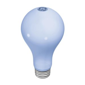 GE 50-100-150-Watt Medium Base A21 Incandescent Light Bulb