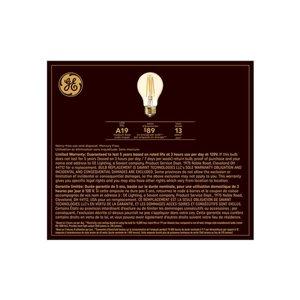 GE 60W LED A19 VIN AMB DIM (2-Pack)