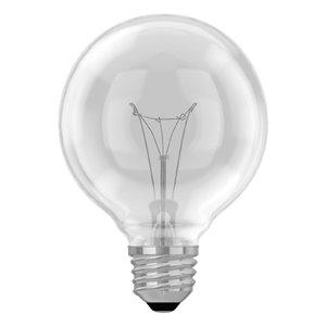 GE 25-Watt Medium Base G25 Soft White Incandescent Light Bulb (3-Pack)