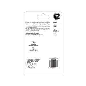 GE 40-Watt Medium Base A15 Soft White Incandescent Light Bulb (2-Pack)