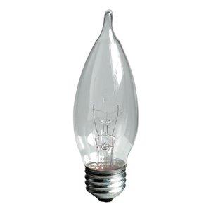 GE 25-Watt Medium Base CA9 Soft White Incandescent Light Bulb (6-Pack)