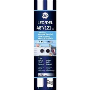 GE LED T8 5000K (2-Pack)