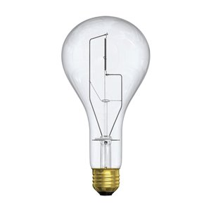GE 300-Watt Medium Base A21 Soft White Incandescent Light Bulb