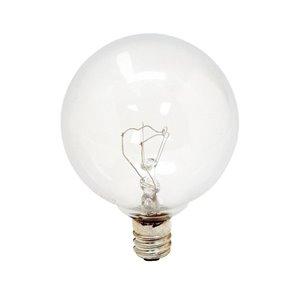 GE 25-Watt Candelabra Base (E-12) G16 Soft White Incandescent Light Bulb (2-Pack)