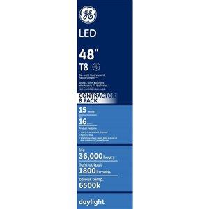 GE LED T8 6500K (8-Pack)