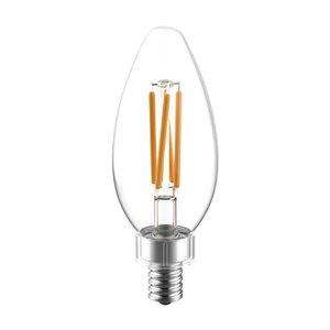 GE 60W LED B10C RVL CL DIM (3-Pack)