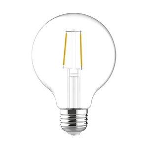GE 40W LED G25 HD RLX CL DIM (2-Pack)