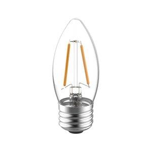 GE 40W LED B10M RVL CL DIM (3-Pack)