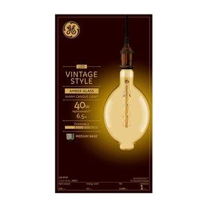 GE 6W LED BT56 CSPI VIN AMBER