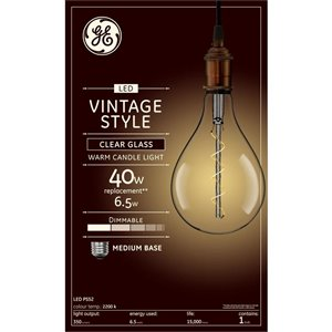 GE 6W LED PS52 SPI VIN CLEAR