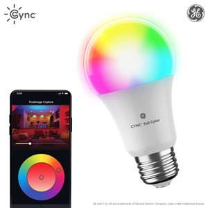 C by GE Full colour Smart Bulb LED A19 (1-Pack)