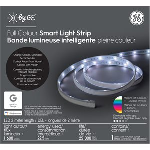 GE GE CBYGE STRIP 80-in RGB COLOUR 1PK
