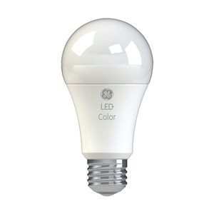 GE 9-Watt A21 Variable Colour LED Light Bulb