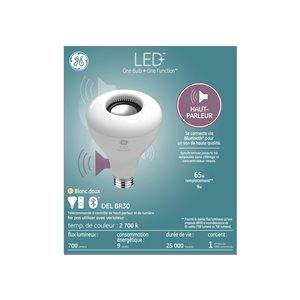 GE LED+ 15W R30 Speaker (1-Pack)