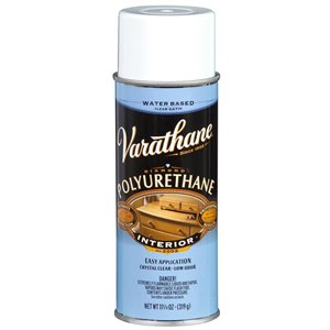 Rust-Oleum 319g Clear Water-Based Polyurethane Spray Paint