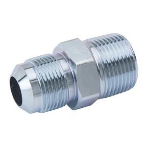 5/8-in O.D. Flare x 3/4-in MIP x 1/2-in FIP Gas Fitting