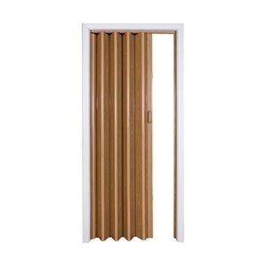 Spectrum 24-in to 32-in x 80-in Encore Oak Solid Core Folding Closet Door