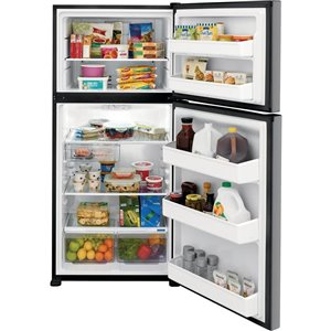 Frigidaire 18.3-cu ft Top-Freezer Refrigerator (Easy Care Stainless Steel)