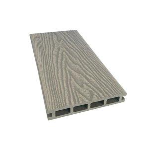 Leadvision 12-ft Elegance Prestige Decking Board Light Grey