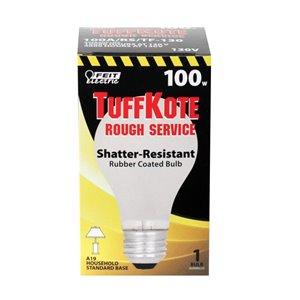 Feit Electric A19 100 Watt Incandescent Tuff Kote Rough Service