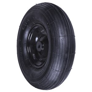True Temper Tire and Rim for Wheelbarrow 14 In.