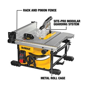 DEWALT DW 8-1/4-in Compact Table Saw