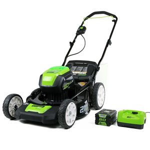 Greenworks 21-in 80V Cordless Lawn Mower