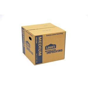 Lowe's Medium Cardboard Moving Box
