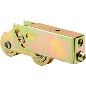 Prime-Line Adjustable 1-1/2-in Steel Tandem Sliding Patio Door Roller Assembly