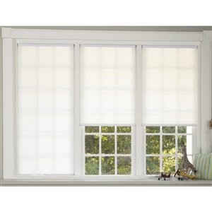 allen + roth 1-in Light Filtering Cordless Cellular Shade