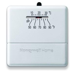 Honeywell Home Honeywell Home Manual Thermostat Heat Only- Millivolt