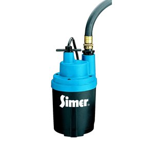 Simer Smart Geyser 1/4 HP Submersible Utility Pump